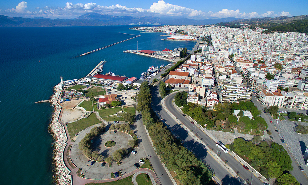 Top View of Patra City